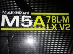 Placa mãe AMD m5a78lm lx v2