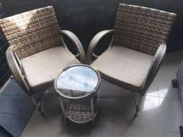 Cadeiras para terraço.