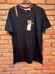 Camisa lacoste preta M