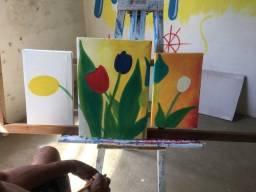 Título do anúncio: Pintura em quadros e tela