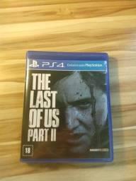 Título do anúncio: Jogo the last of us part ii dublado ps4