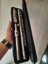Flauta transversal yamaha 221 Impecável