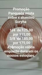 Material para instalação de Split e refrigeração em promoção