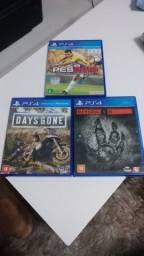 Título do anúncio: Jogos PS4 venda ou troca