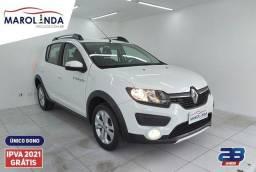 Renault Sandero Stepway 1.6 Ipva Pago- Único dono- 2020