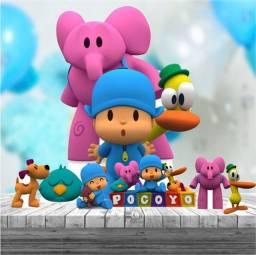 Título do anúncio: Kit decoração festa infantil Pocoyo