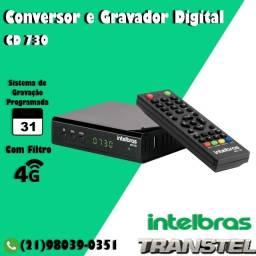 Título do anúncio: Conversor de Tv Digital HDTv CD730 Intelbras
