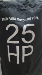 Capa Saco para Motor de Popa 25 e 30 HP - NOVA