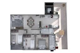 Apartamento à venda com 3 dormitórios cod:FUT3740