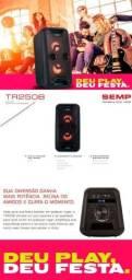 Título do anúncio: Caixa amplificada semp (TCL) tr205b 250w de potência