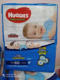 Fraldas Huggies P 60 und(Caruaru)