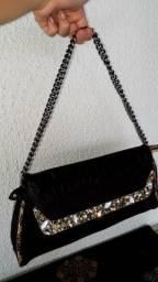 Bolsa exótica estilo Clutch