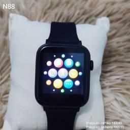 Relógio digital smartwatch N88 lançamento com 04 meses de garantia