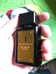 Frasco perfume golden secret antonio bandeiras 30ml vazio