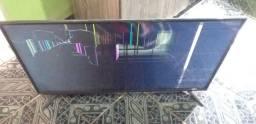 TV philco quebrado