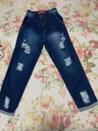 Calça jeans pouca usado TAM 40