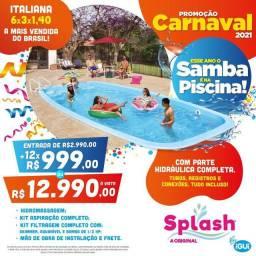 Promoção Splash Birigui piscinas