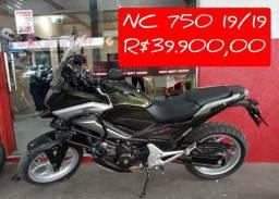 NC 750 2019/19 a vista 39.900 A PRONTA ENTREGA