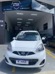NISSAN MARCH 2017 COMPLETO IMPECÁVEL