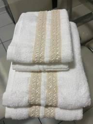 Conjunto toalhas 4 peças