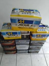 Baterias 60 amperes Kondor (1 ano de garantia)R$250,00 a Vista