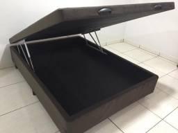 [Promoção] Base para Cama Box Baú Espumado - Casal Padrão