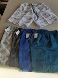 5 shorts tactel masculino