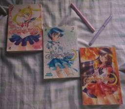 Sailor Moon 3 primeiros volumes desta saga maravilhosa
