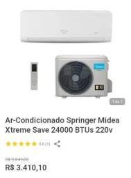 Ar condicionado 120000 BTUs e 12 milBTUs