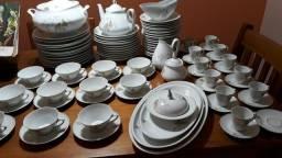 Aparelho de jantar e café Porcelana REAL