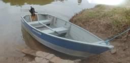 Vendo barco de alumínio - 2015
