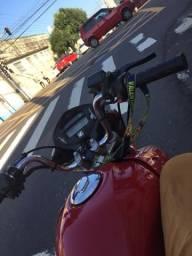 Vendo essa fan 150 ano 13/14 de aro liga leve,painel digital moto top - 2014