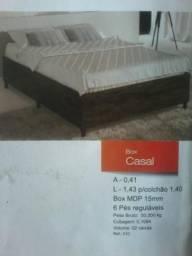 Promocao box base de solteiro 190,00 no dinheiro NA CAIXA (NOVO) ENTREGA E MONTAGEM GRATIS