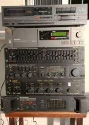 Amplificador Sygnus, Gradiente, Philco Hitachi, Mixer, Equalizador