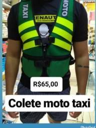 Colete Para moto táxi moto boy moto frete