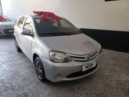 Toyota etios 2015 1.3 x completo