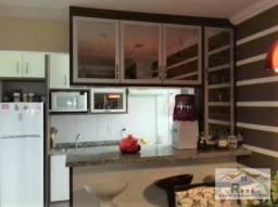 Apartamento em Hortolandia com mobilia, 2 quartos, sacada