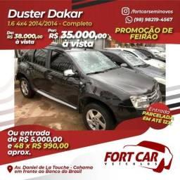 Duster 2014- entrada 5.000 e 48x 990 aprox - 2014