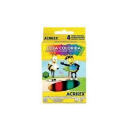 Cola Colorida c/4 Acrilex