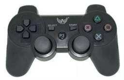 Controle Joystick Ps3 Sem Fio Bluetooth Dualshock 3 Wireless Vibração + garantia!