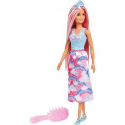 Barbie Fan Penteados Magicos Mattel FXR94