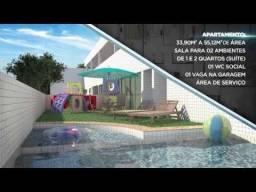 Apartamentos com 1 a 2 quartos, 34 a 55 m² Casa Caiada - Olinda/PE