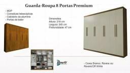 Guarda roupa Premium 8 portas V526