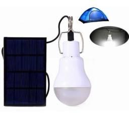 L Lâmpada solar de LED! Últimas unidades! Para camping e áreas externas. Entrega Grátis!