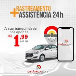 Rastreador + Assistência 24h Veicular
