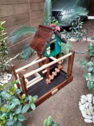 Playground para maritaca calopsita arara e papagaio chat não está funcionando chama zap