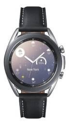 Smartwatch Galaxy Watch3 Samsung 41mm Cor Prata - Na caixa