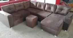Sofa direto da fabrica cm entrega grátis hoje aproveite