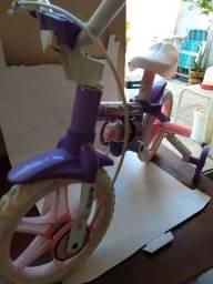 Bicicleta Infatil Aro 12 Modelo Violeta Marca Nathor