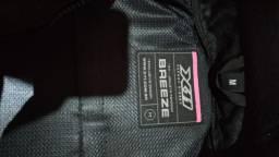 Jaqueta motoqueiro feminina Breeze X 11 ventilada